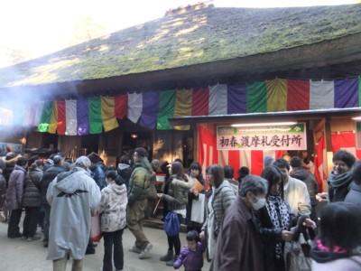 新年の初詣は、東京都青梅・塩船観音へ  2013.1.1 007.jpg